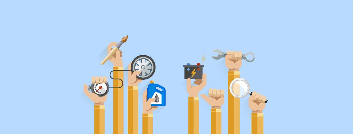 ¿Qué herramientas debes tener cuando manejas?