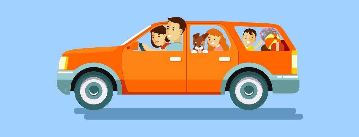 viajar con mascotas en el carro